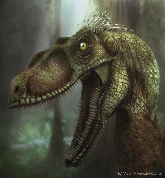 раптор динозавр фото